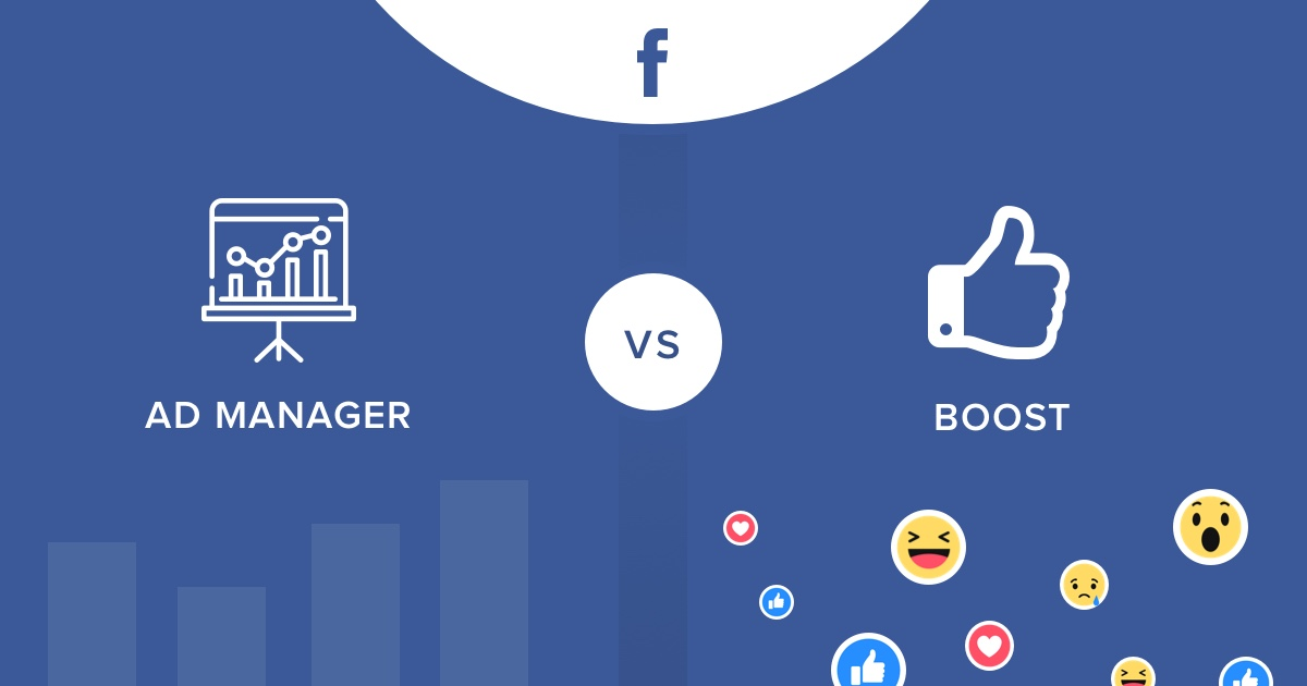 The difference between running ads on Facebook Ads Manager vs Boosting Posts?